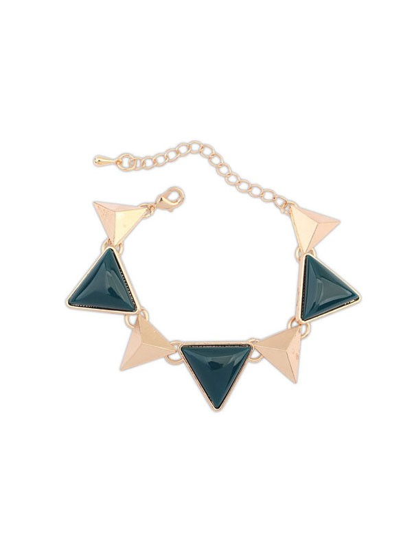 Occident Retro Punk Geometria Triangle Vendita calda Bracciali